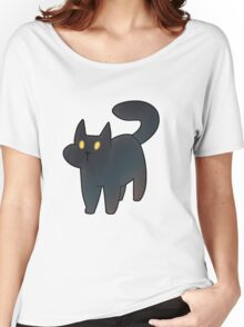 Cat Gradient  Women's Relaxed Fit T-Shirt