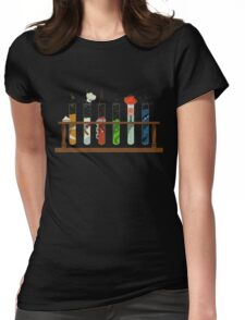 Muppet Science Womens Fitted T-Shirt