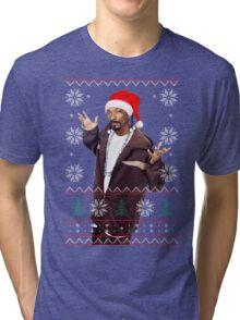 Snoop Christmas Tri-blend T-Shirt