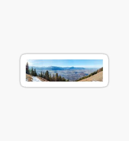 cool moutains!! Sticker