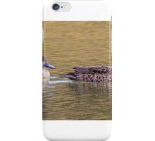 Grey Teal Pair iPhone Case/Skin