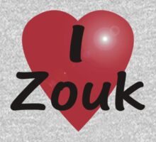 Dance - Love - I Heart Zouk Dancer T-Shirt & Top by deanworld