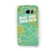 Make Your Own Path Samsung Galaxy Case/Skin