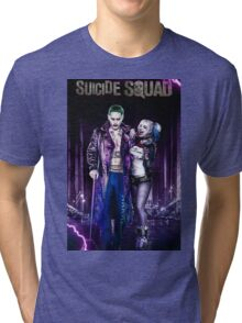 HARLEY Quinn & The Joker  Tri-blend T-Shirt