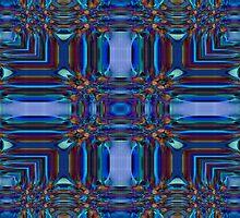 Blue Gems by Marie Sharp