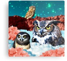 Kindly Owl Gods of the Red Mesa Metal Print
