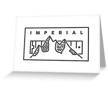 IMPERIAL Greeting Card