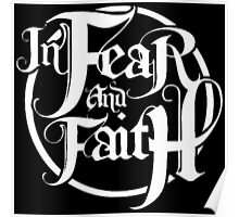 In Fear and Faith White logoo Poster