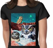 Kindly Owl Gods of the Red Mesa Womens Fitted T-Shirt
