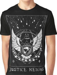 Pharah Justice Reigns Tarot Card Graphic T-Shirt