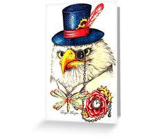 Sir Eagor Snozzle Greeting Card