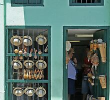 Cuban shopfront by Maggie Hegarty