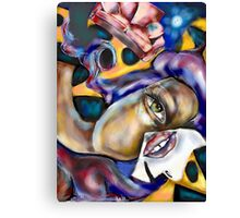 The Falling Woman  Canvas Print
