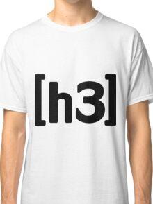 h3h3 - Black Classic T-Shirt