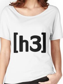 h3h3 - Black Women's Relaxed Fit T-Shirt