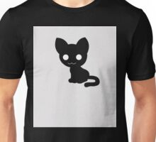 I Love My Creepy Cat T-shirt for Cat Lovers Unisex T-Shirt