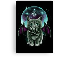 Cosmic Pufffcraft Canvas Print