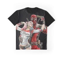 Harley Quinn & DP  Graphic T-Shirt