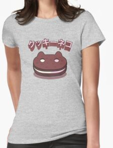 Steven Universe - Cookie Cat (Japanese) Womens Fitted T-Shirt