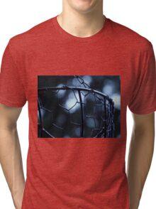Chicken Wire Basket Tri-blend T-Shirt