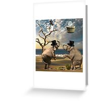 Be Silly... Greeting Card