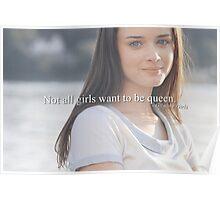not a queen Poster