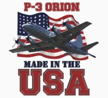 P-3 Orion Made in the USA Kids Tee