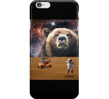 Enormous Bear Interrupts Charity Golf Tournament  iPhone Case/Skin