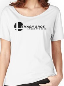 Smash Lab: Black Women's Relaxed Fit T-Shirt