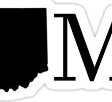 Indiana Home Sticker