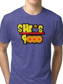 She's Over 9000 Math Equation Tri-blend T-Shirt