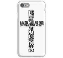 Gay for god - Always Sunny iPhone Case/Skin