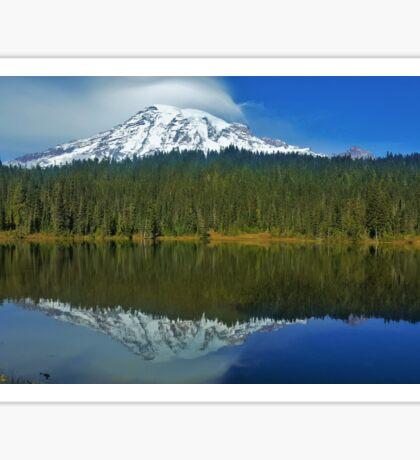 Mt Rainier - Reflection Lakes Sticker