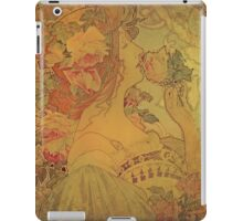 Upon Waking Up and Smelling the Roses iPad Case/Skin