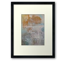 Abstract relaxation painting Framed Print