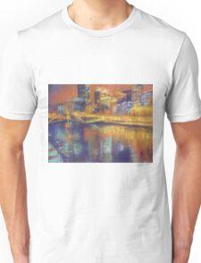 Melbourne: City Lights Unisex T-Shirt