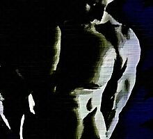 Black & Blue Torso (Original Sold-available in limited edition 2 of 50) by BrianJoseph