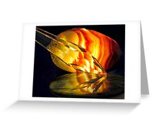 Fire in the Stones Greeting Card