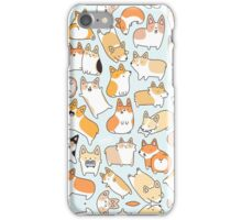 Funny Corgi iPhone Case/Skin