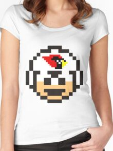 ARIZONA CARDINALS Women's Fitted Scoop T-Shirt