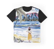 Hawaiian Holiday Graphic T-Shirt