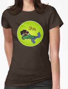 Nerd Eva Womens Fitted T-Shirt