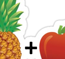 Pen Pineapple Apple Pen PPAP S Sticker