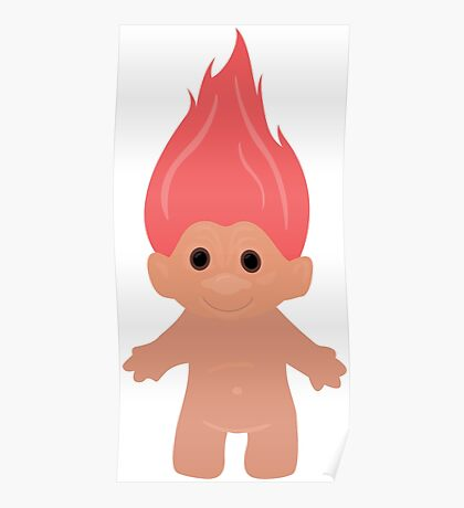 Pink Troll Poster