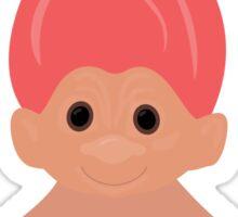 Pink Troll Sticker