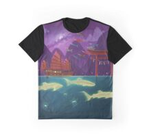 Junk Ship and Glow Sharks Graphic T-Shirt