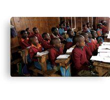 Kenyan Schoolroom  Canvas Print