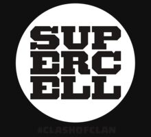 SuperCell White COC Clash of clan Shirts by Trish08