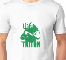 Triton Trident Isolated Retro Unisex T-Shirt