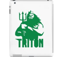Triton Trident Isolated Retro iPad Case/Skin